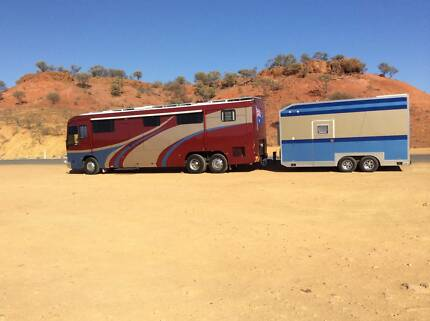 MOTORHOME 19M  COACH  & ENCLOSED TRAILER, EXCEPTIONAL VALUE Twin Waters Maroochydore Area Preview