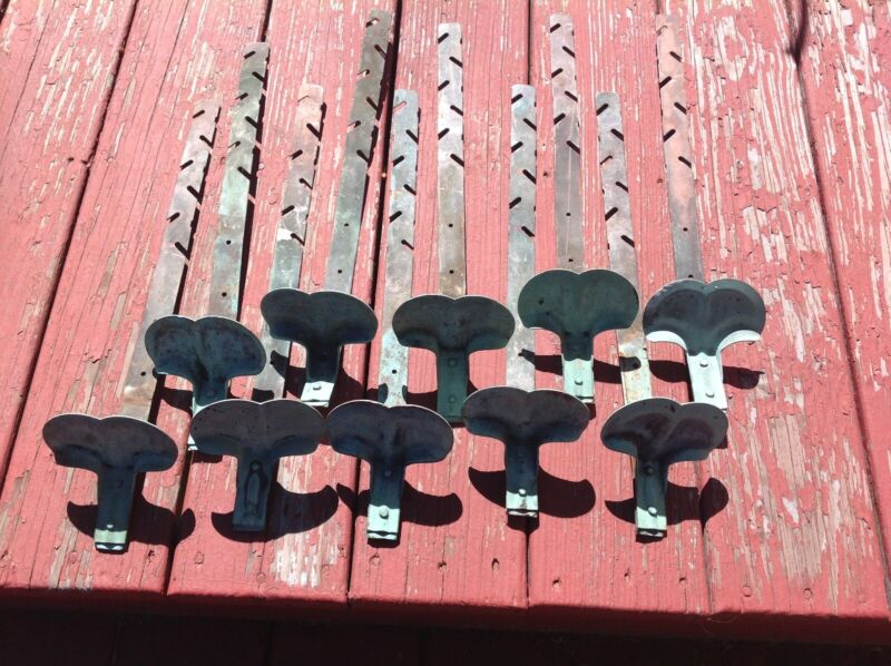 antique copper roof snow birds/ice guards lot of ten