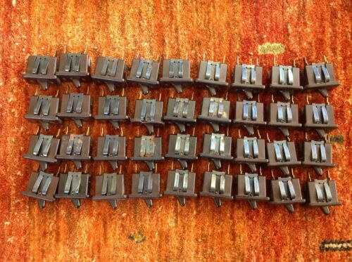Carling Black On-Off Toggle switch 10A 250V,15A 125V, Vintage Lot of 36 c photos
