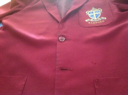 Radford College boys blazer and other items