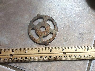 Hand Grinder Part Vintage Shabby Metal Mechanical Mechanism