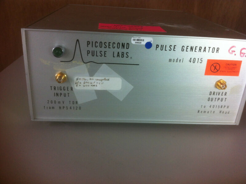 Picosecond Pulse Labs Pspl 4015 W 5331