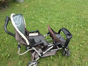 Duo glide double stroller