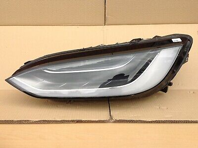 TESLA MODEL X LED HEADLIGHT HEADLAMP N/S PASSENGER LEFT 2015 - 2017 103432200B