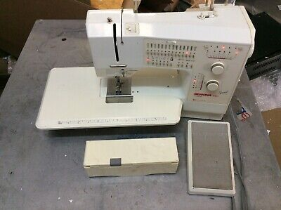 Bernina 1080 sewing machine ,extension table and lot of foots for sale  Shipping to Nigeria