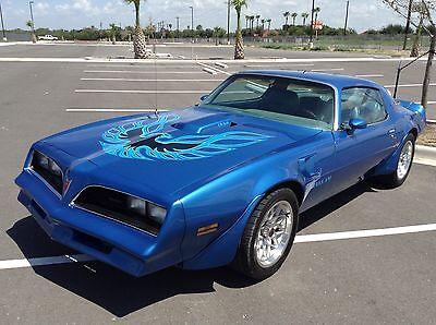 1978 Pontiac Trans Am  1978 Trans am rare Martinique Blue color
