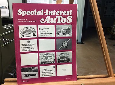 Special Interest Auto 1970 Sept  1
