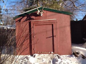Storage Shed/Ice Shack