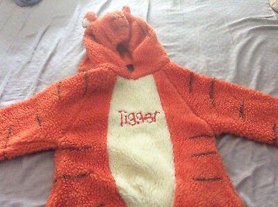 Disney Store Tigger Size 4-6T Halloweem - Halloweem Costume