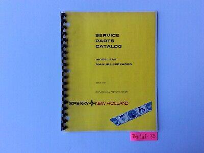 New Holland 329 Manure Spreader 8-83 Service Parts Catalog
