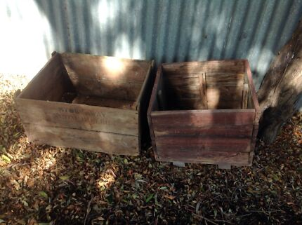 Wooden boxes/crates Manningham Port Adelaide Area Preview