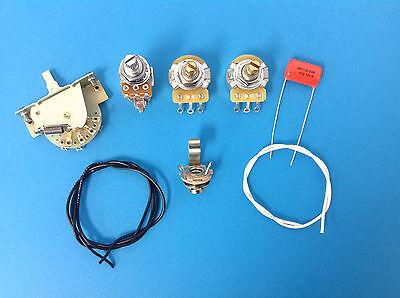 Strat Guitar Wiring Kit Push Pull 7 Sound Mod Coil Tap  (Guitar Wiring Kit Strat)