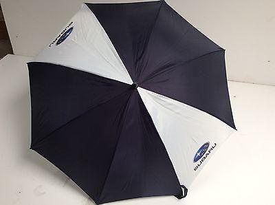 Subaru Umbrella Genuine Accessory Blue White