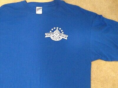 Green Day Local Crew T Shirt Blue XL