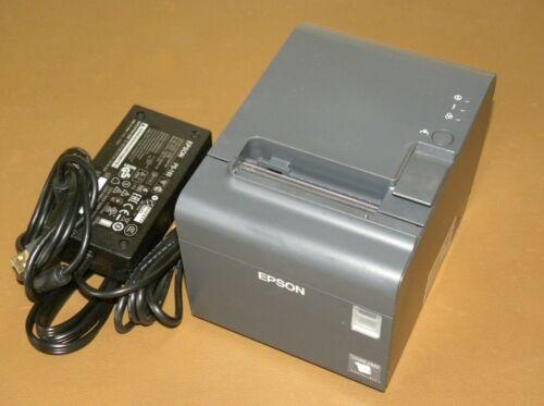 Epson TM-L90 M313A USB Ethernet Thermal POS Receipt Printer w/ Power Supply