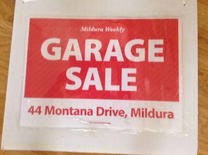 Having a Garage Sale on Saturday 26 September  Mildura Centre Mildura City Preview