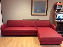 Red chaise lounge Berwick Casey Area Preview