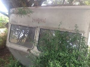 Vintage Pedigree caravan complete in need of TLC Smiths Beach Bass Coast Preview