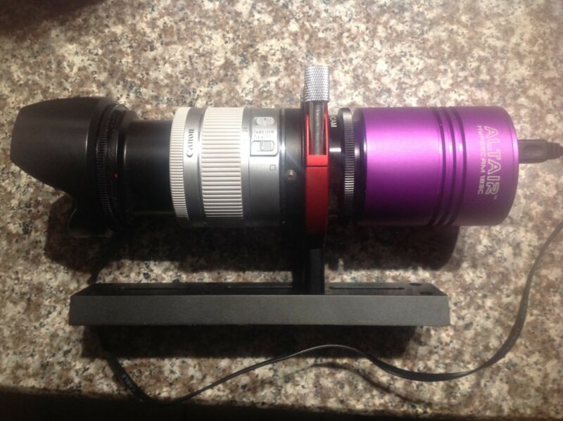 Altaire DSLR/CCD Hypercam Astrophotography combo. New out of box.