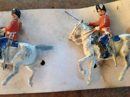 Metal Toy Soldiers Australia Metal Toy Soldiers on Horses