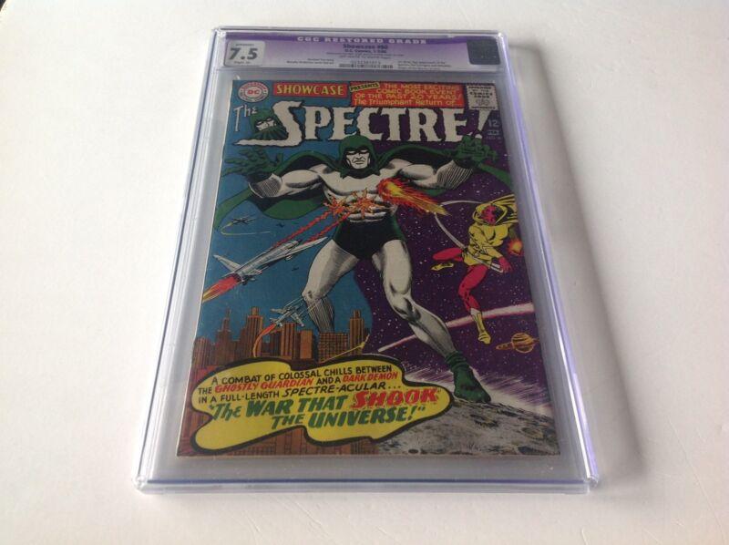 SHOWCASE PRESENTS 60 CGC 7.5 1ST SILVER AGE SPECTRE ORIGIN DC COMICS RESTORED