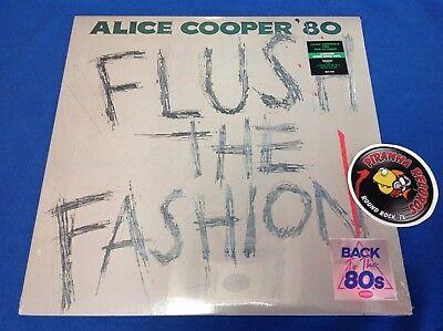 Alice Cooper Flush Fashion LP Back To The 80's Vinyl NEW RHINO Piranha Records