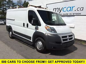 2014 RAM ProMaster 1500 Low Roof NAV, BLUETOOTH, A/C!!!