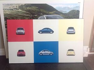 VW Wall Art - Set of Two  - 40 for both.