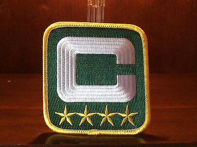 Awesome     Green Bay Packers Captain Patch 4 Stars  Jersey Ready  Best Edition