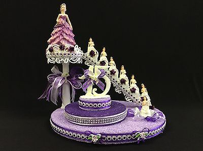 Quinceanera Cake Topper Quince Sweet 16 Mis Quince Table Decoration Center Piece](Quinceanera Table Decorations Centerpieces)