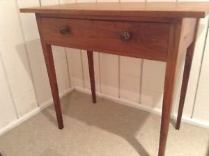 Solid wood small desk/ table