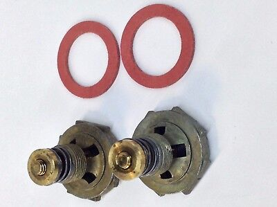 2 PACK HOLLEY CARBURETOR POWER VALVE 2.5 3.5 4.5 5.5 6.5 7.5 8.5 9.5 10.5 GASKET