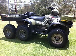 POLARIS 500 SPORTSMAN 6x6 QUAD Cooranbong Lake Macquarie Area Preview