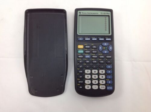 Texas Instrument TI-83 Plus Graphing Calculator new batteries tested and working