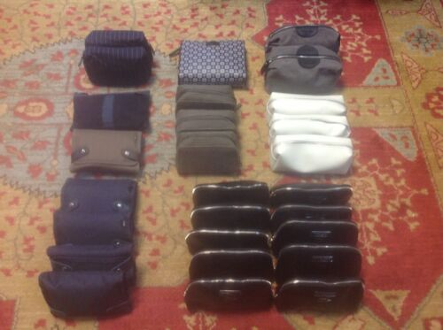 27 British Airways First & Business Class Amenity Travel Bags. All Sealed.