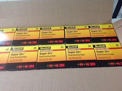 Scotch Super 33+ Vinyl Electrical Tape, 3/4 x 66 ft  100 rolls