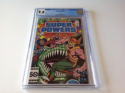 SUPER POWERS 2 CGC 9.8 WHITE PGS HAWKMAN JACK KIRBY HIGHEST GRADED DC COMICS