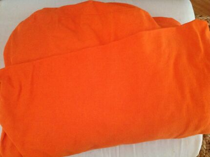Orange loose cover for Ikea Klippan couch sofa Lane Cove West Lane Cove Area Preview