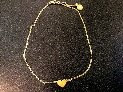 Tory Burch Heart Pendant Tory Vintage Gold necklace
