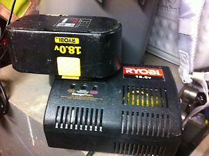 Ryobi 18v battery and charger Hamersley Stirling Area Preview