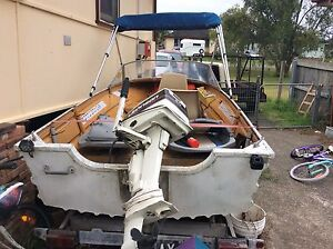 Registered boat and trailer Raymond Terrace Port Stephens Area Preview