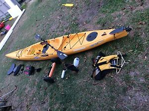 Hobie mirage adventure kayak single seat with accessories Scarborough Redcliffe Area Preview