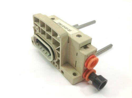 NU-Con 07068-004000-2027 Pneumatic Valve Manifold Base