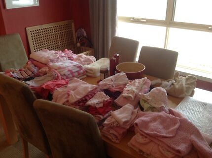 Baby Girls Entire wardrobe , various items ,0-3 months ,70 items Willaston Gawler Area Preview