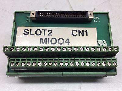 Yaskawa Motoman Break Out Board Module, # 5535392, Revision 0, Used,  WARRANTY