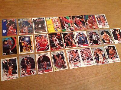 Job Lot Of Chicago Bulls NBA Basketball trading cards Inc Jordan