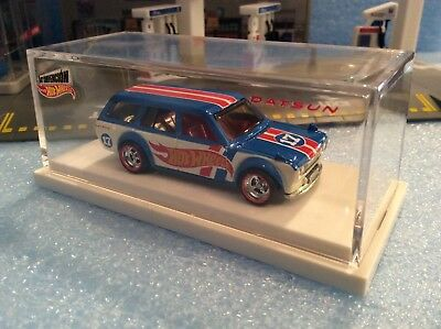 HOT WHEELS 2017 MEXICO CONVENTION '71 DATSUN BLUEBIRD 510 WAGON REAL RIDERS NIB