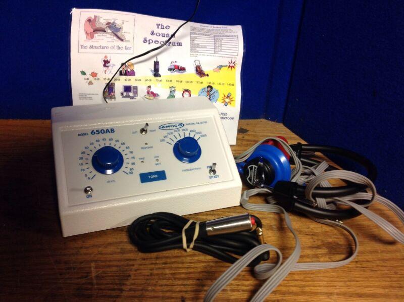 Ambco Audiometer 650AB