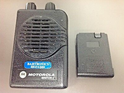 Motorola Minitor 5 Pager Only Model A03kms9238bc Vhf 1 Ch Sv Programmed