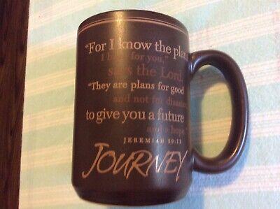 Lighthouse Christian Graduation Gift Coffee Mug  12 oz Jeremiah 29:11 Good